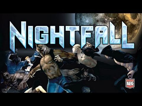 The Totally Rad Show - Nightfall | Vampires vs Werewolves Board Game Review