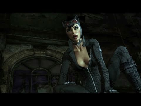 Batman Arkham City 12 Mins Gameplay Video Featuring Catwoman (HD 720p)