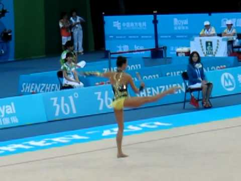 Liubov Charkashyna 2011 Universiade Clubs FINAL