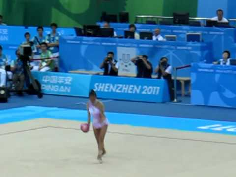 Aliya Garaeva 2011 Universiade Ball FINAL