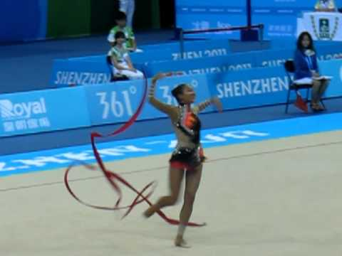 Aliya Garaeva 2011 Universiade Ribbon FINAL