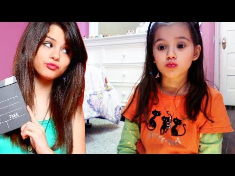 Alex Russo (Selena Gomez) Makeup Tutorial for Kids and Style Guide by Emma
