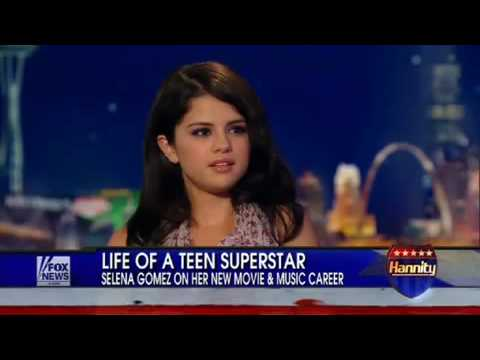 Selena Gomez on The Sean Hannity Show - 21 July 2010