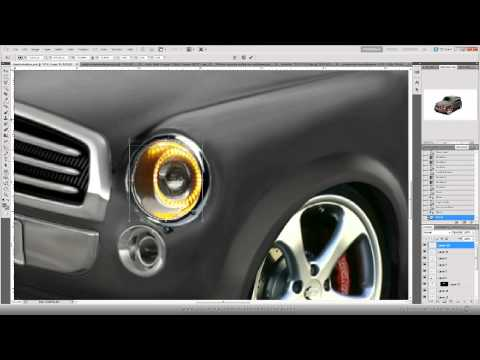Speed Art Adobe Photoshop - Extreme car repair and tuning